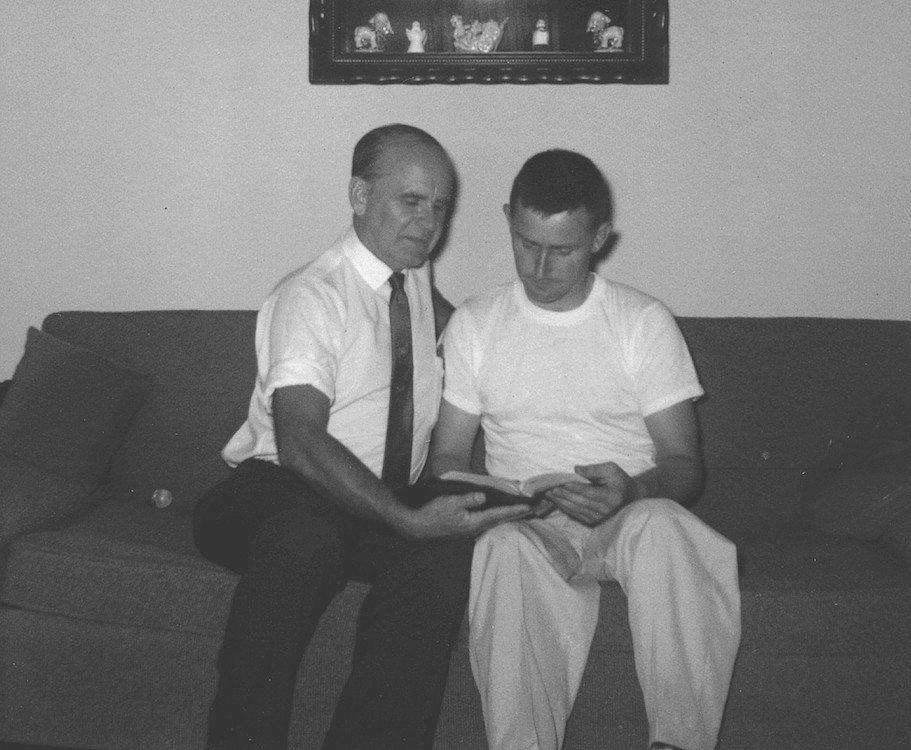 WIlliam Branham en Hick Hickerson