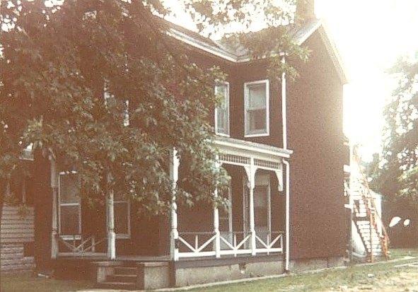 Het huis van Ella Branham, de moeder van William Branham