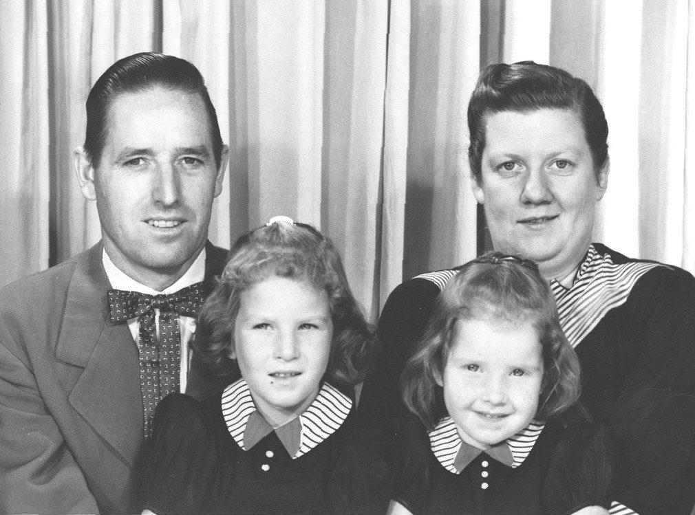 De Familie Beeler op jongere leeftijd