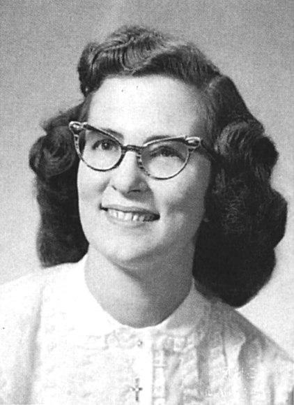 Rosella Griffith Martin, een korte tijd na haar genezing