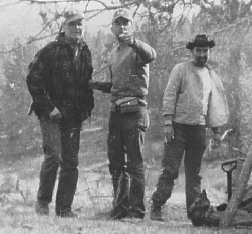 William Branham met zijn zoon Billy Paul en Veron Mann, Kremmling, Colorado, 1963