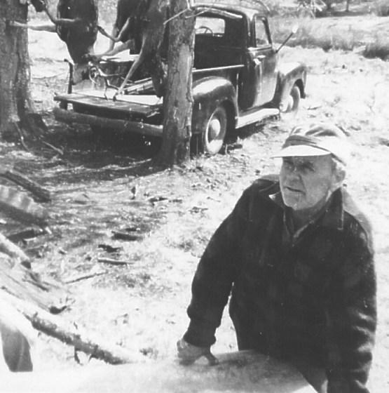 William Branham tijdens een jachttocht in 1963