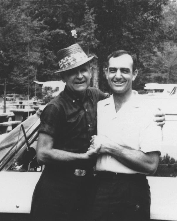 William Branham en Willard Collins