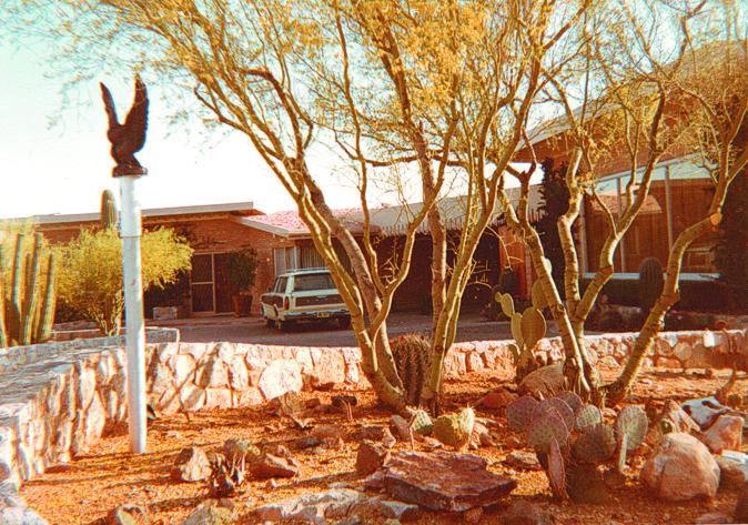 Het huis van William Branham in Tucson